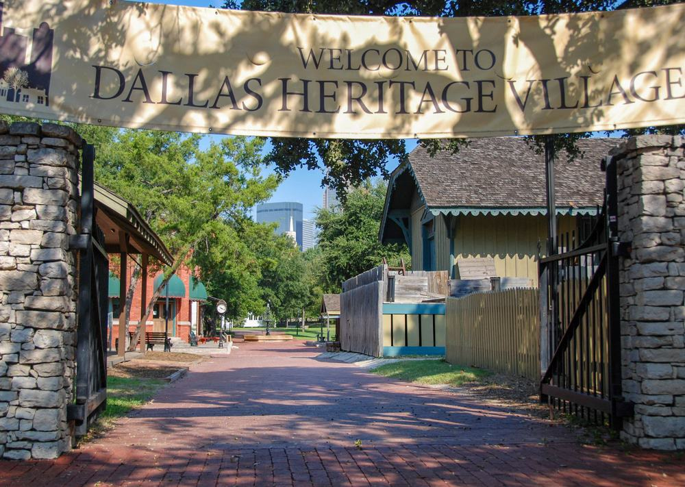 Dallas Heritage Village at Old City Park