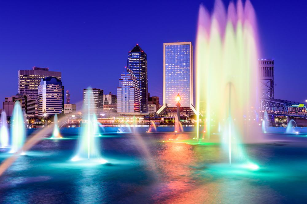 Friendship Fountain, Jacksonville