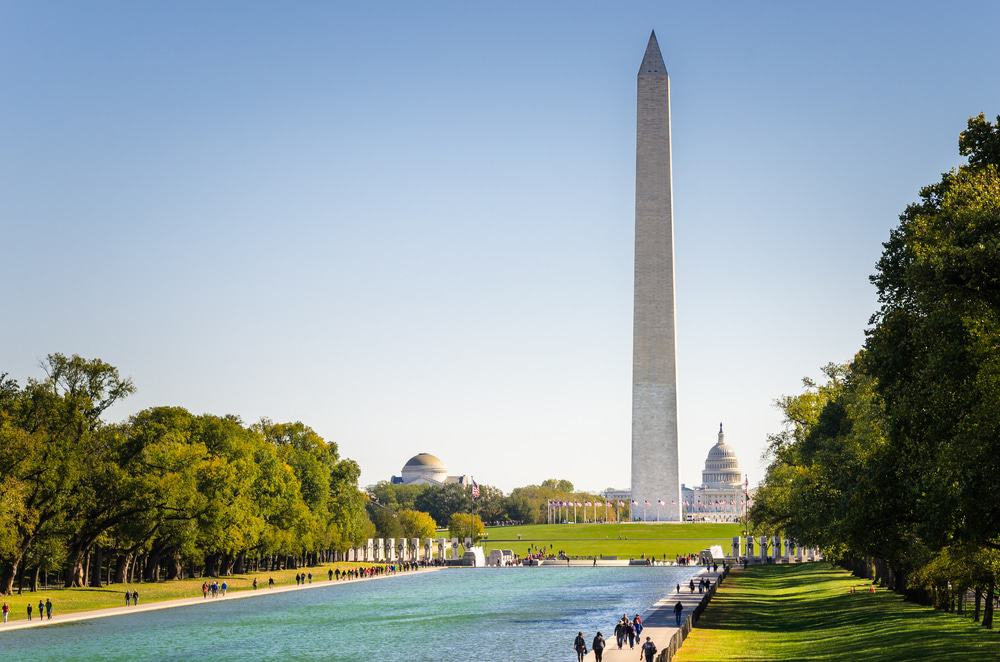 The National Mall and Washington Monument