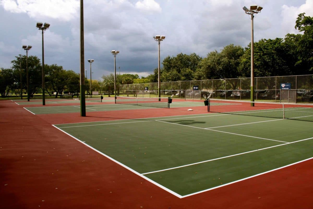 Tamiami Park, Tennis Center