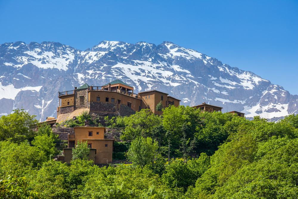 Imlil in the Atlas Mountains