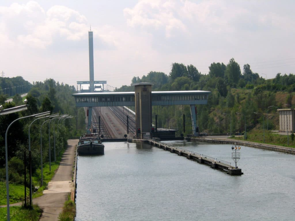 Ronquières Inclined Plane