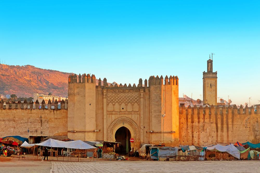 Gate to the Ancient Medina of Fez