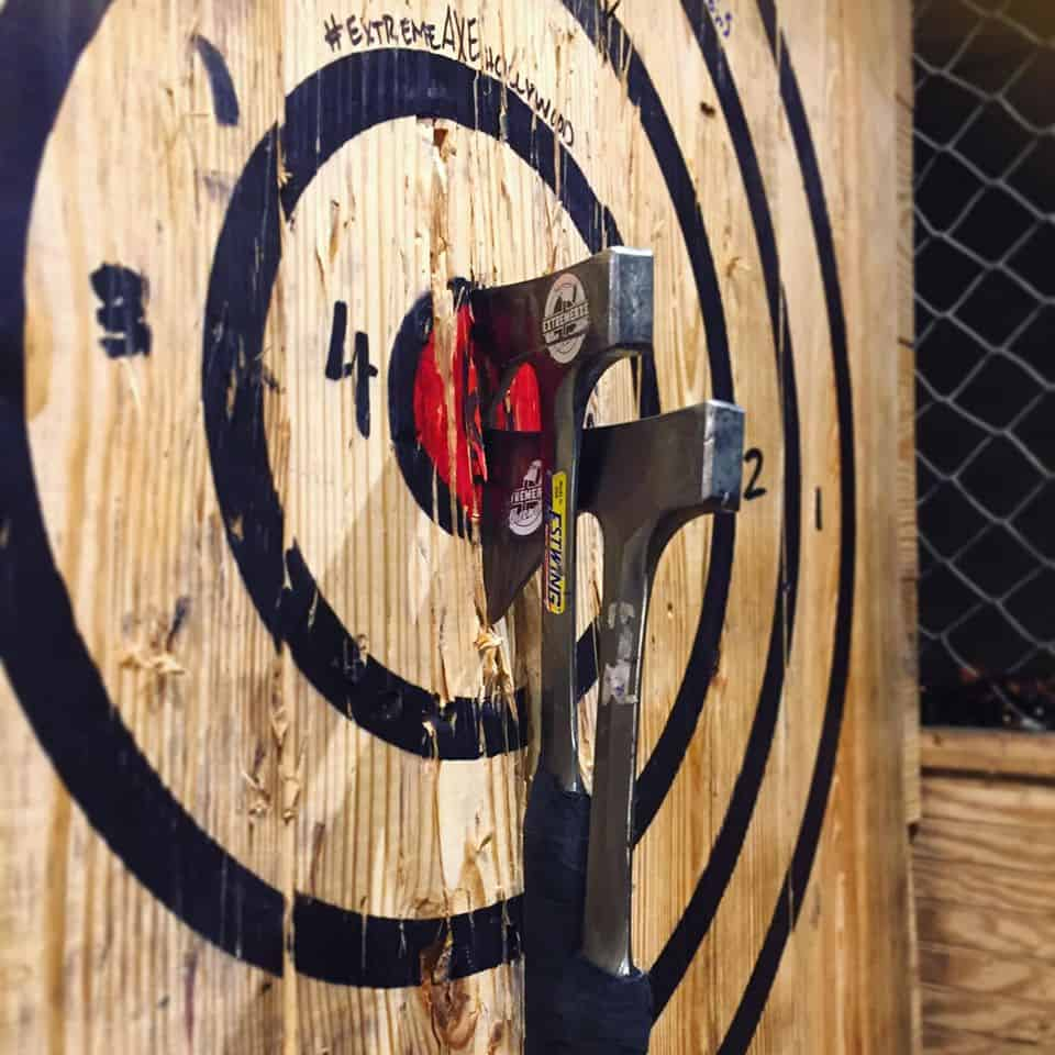 Extreme Axe Throwing, Hollywood