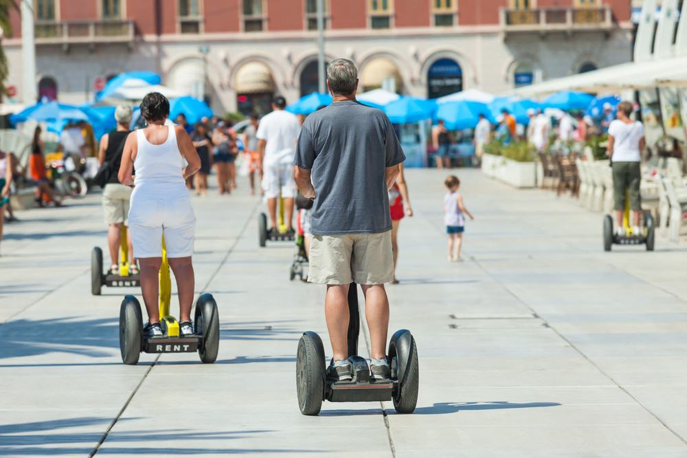 Segways in Split