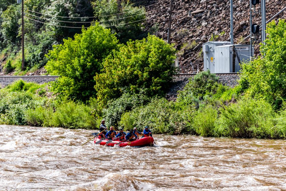 Whitewater Rafting, Roaring Fork River