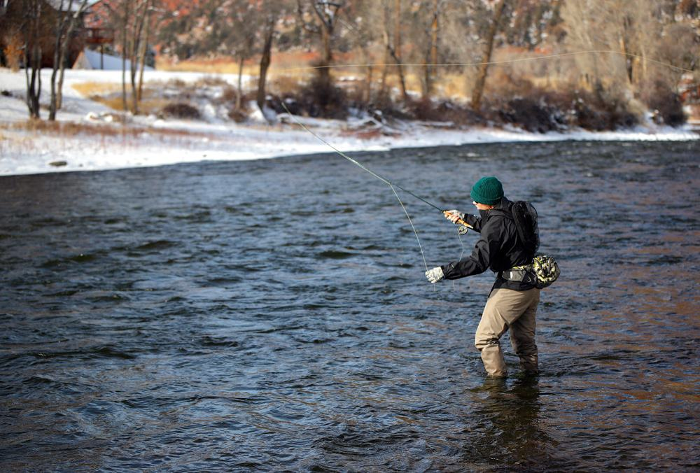 Fly Fishing, Roaring Fork River