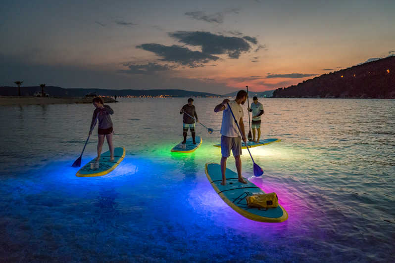 Stand Up Paddleboard Night Glow Tour