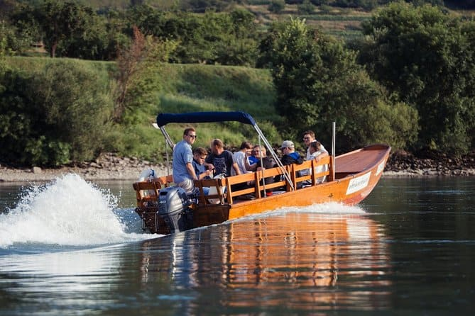 Exquisite Wine Tasting On Traditional Wooden Boats