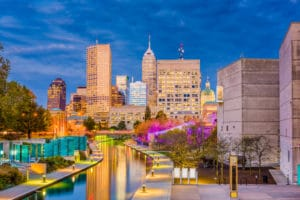 Downtown Indy Canal Walk