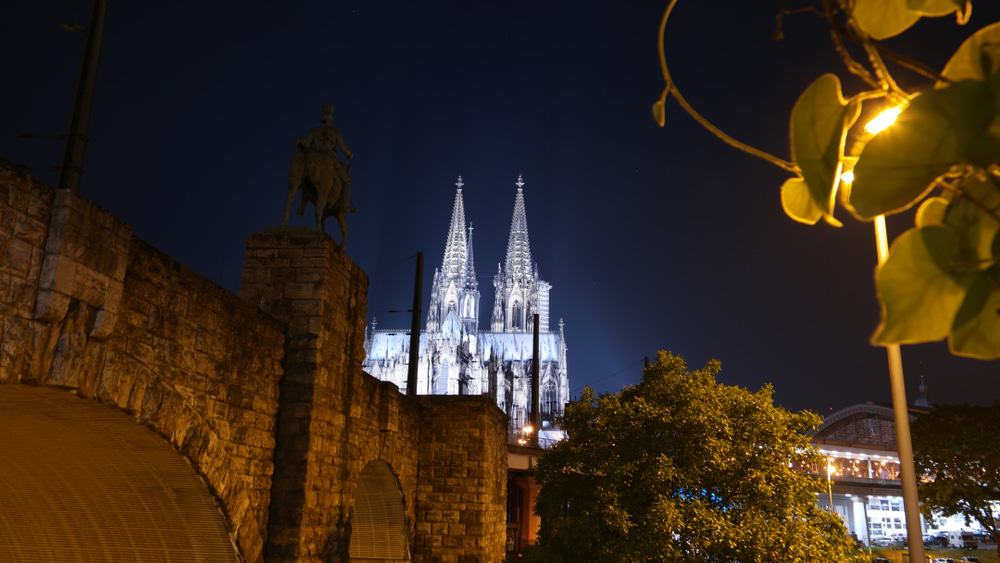 Cologne Cathedral by Night