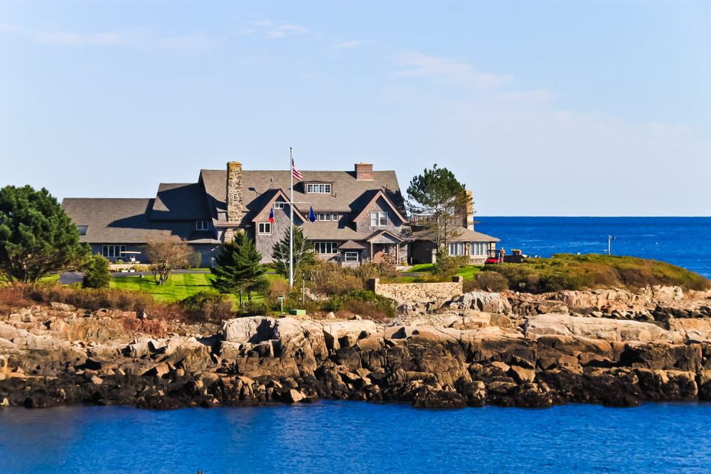 President Bush Compound Kennebunkport