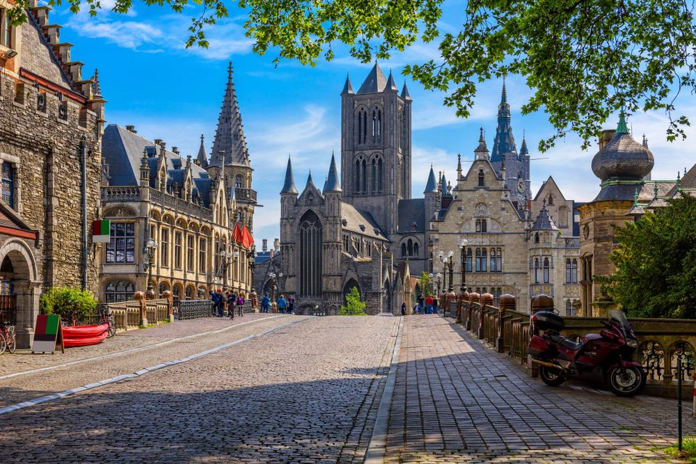 Medieval city of Gent