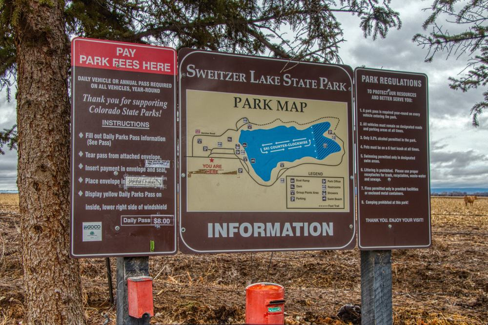 Sweitzer Lake State Park