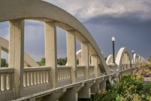 Rainbow Bridge, Fort Morgan