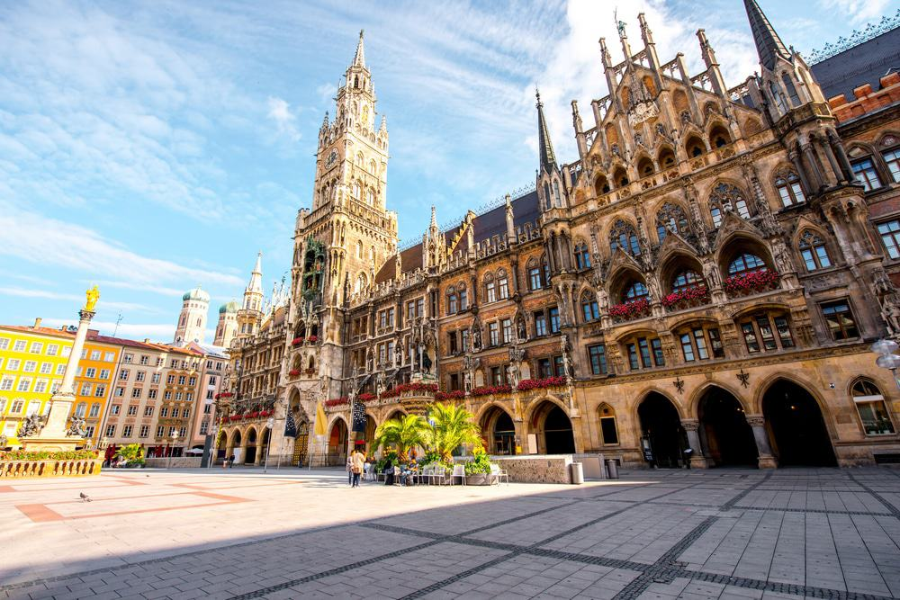 Mary's square in Munich, Germany