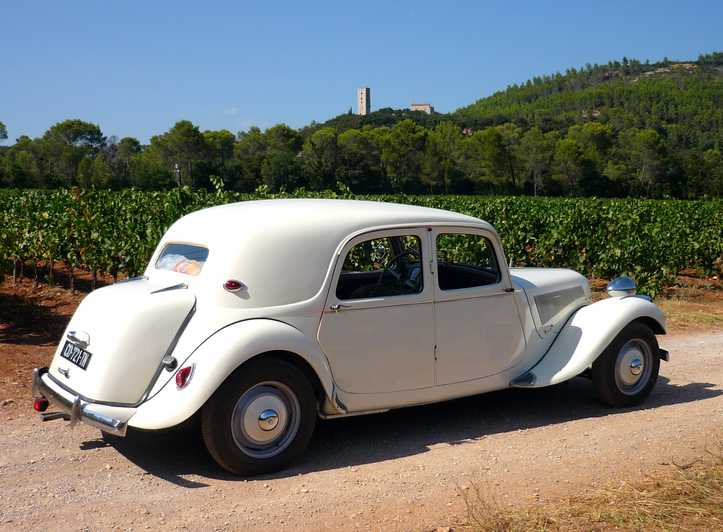 Half-Day Tour of the French Riviera in a Vintage Car