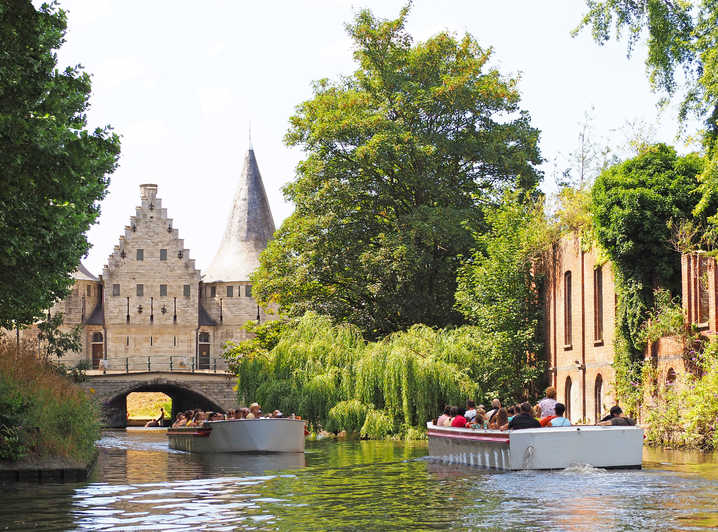 Ghent by Boat