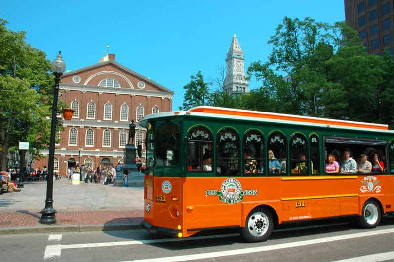 Boston: Old Town Hop-On Hop-Off Trolley