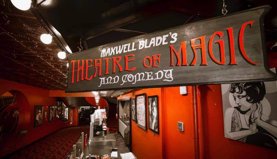 Maxwell Blade Theatre Of Magic And Comedy