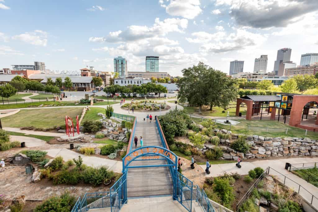 Riverfront Park, Little Rock
