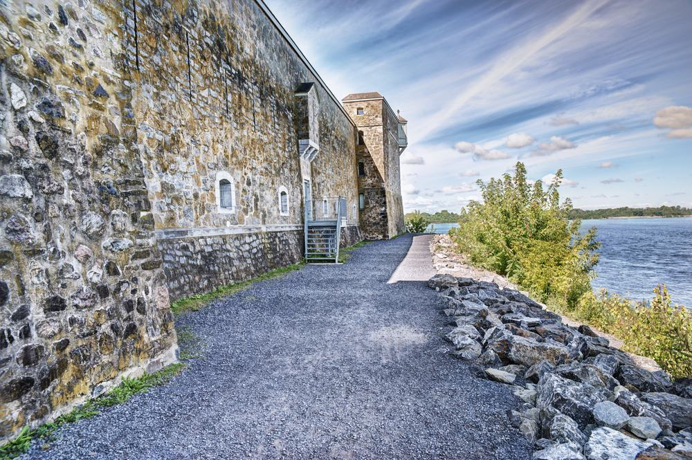 Fort At Chambly Canal National Historic Site