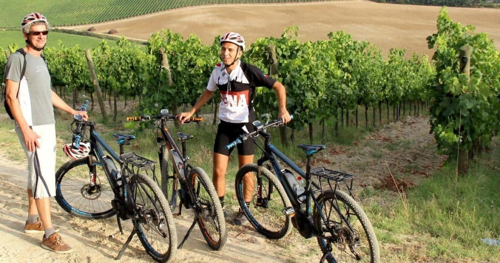 E-Bike Tour with Winery Lunch