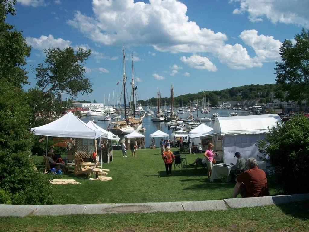 Camden Harbor Arts And Crafts Show