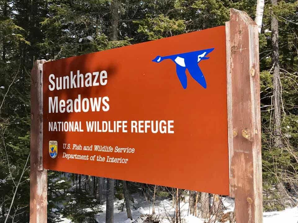 Sunkhaze Meadows National Wildlife Refuge