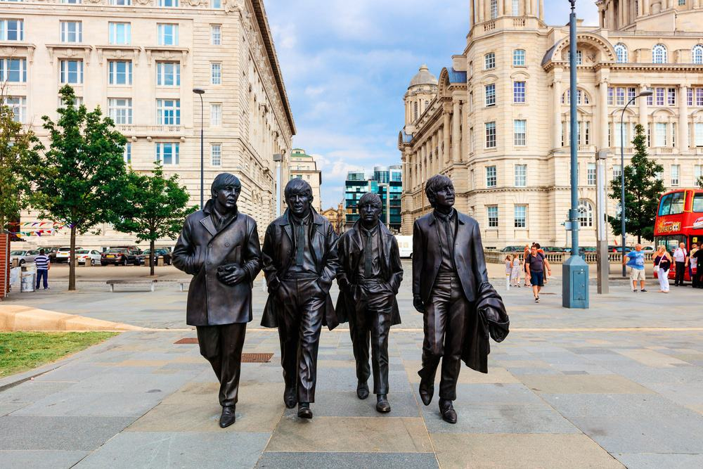 Beatles Monument Liverpool