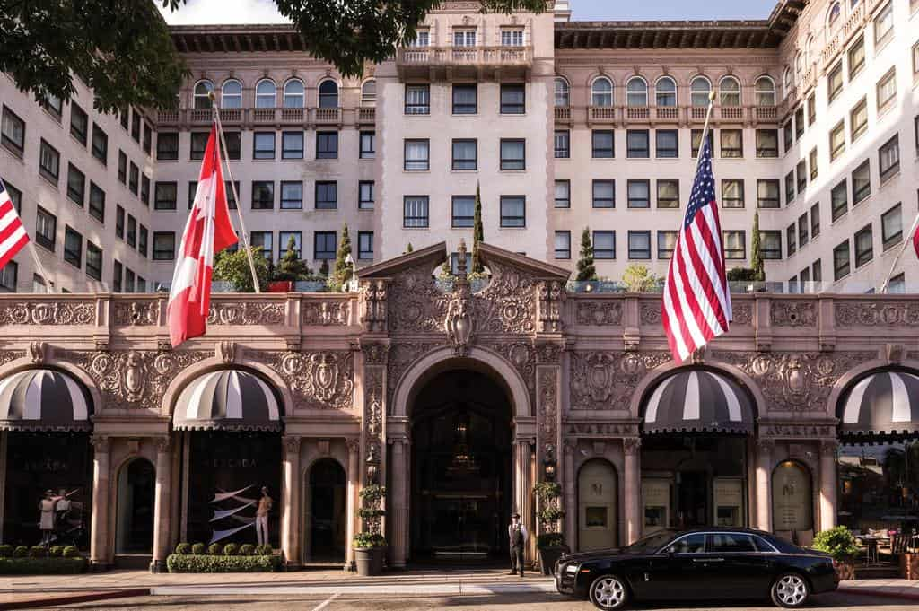 Beverly Wilshire Four Seasons Hotel, Los Angeles