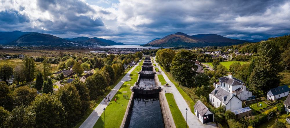 Neptune's Staircase, Fort William