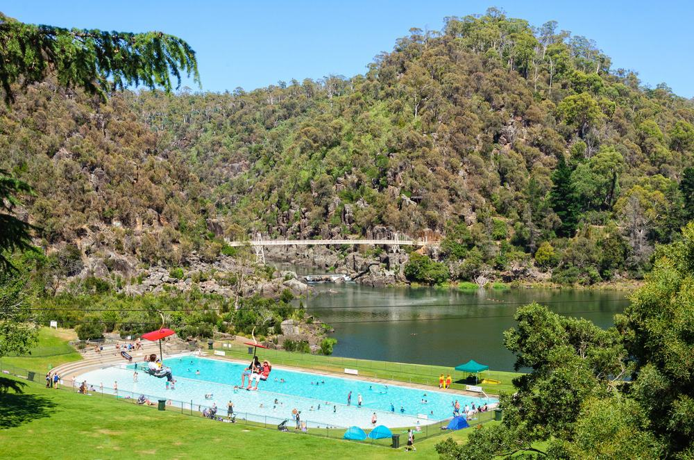First Basin In The Cataract Gorge