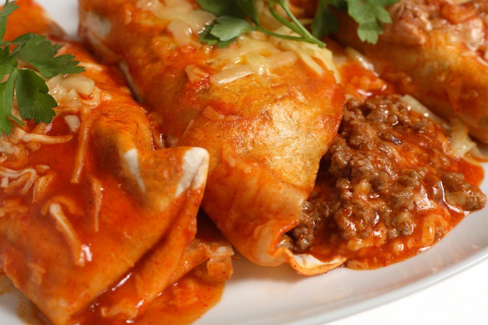 Enchiladas, Mexican Food