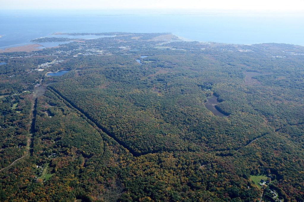 Aerial view of The Preserve, Old Saybrook