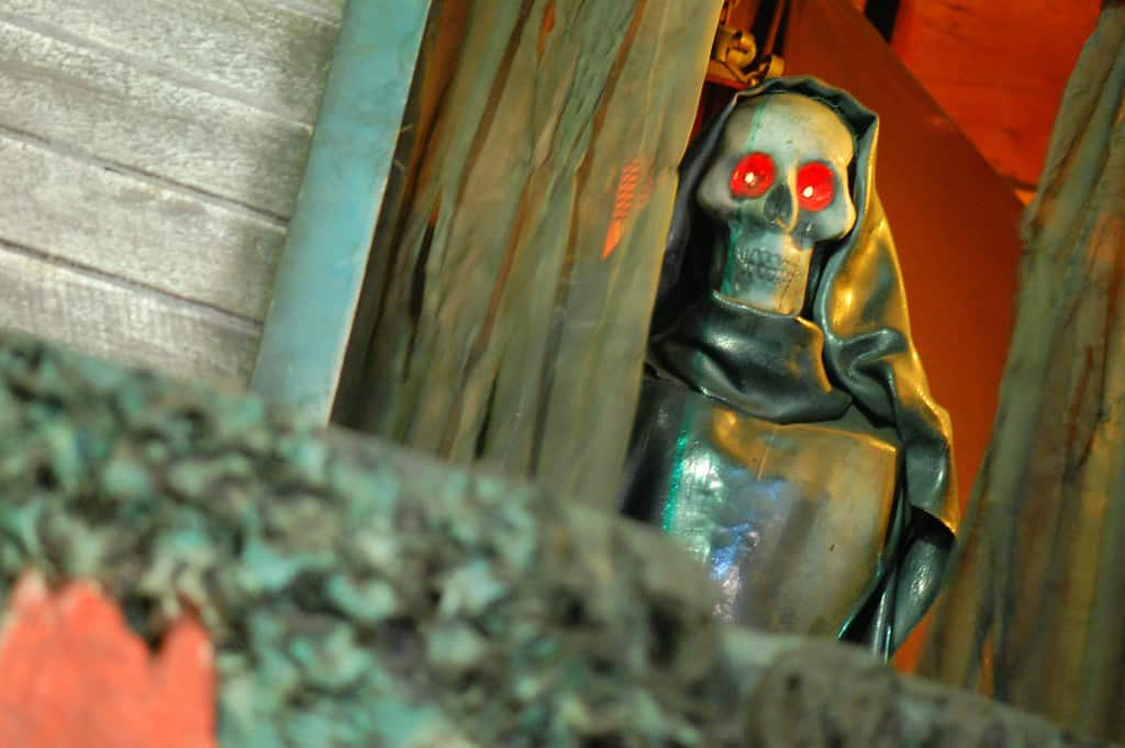 Haunted House In Funland