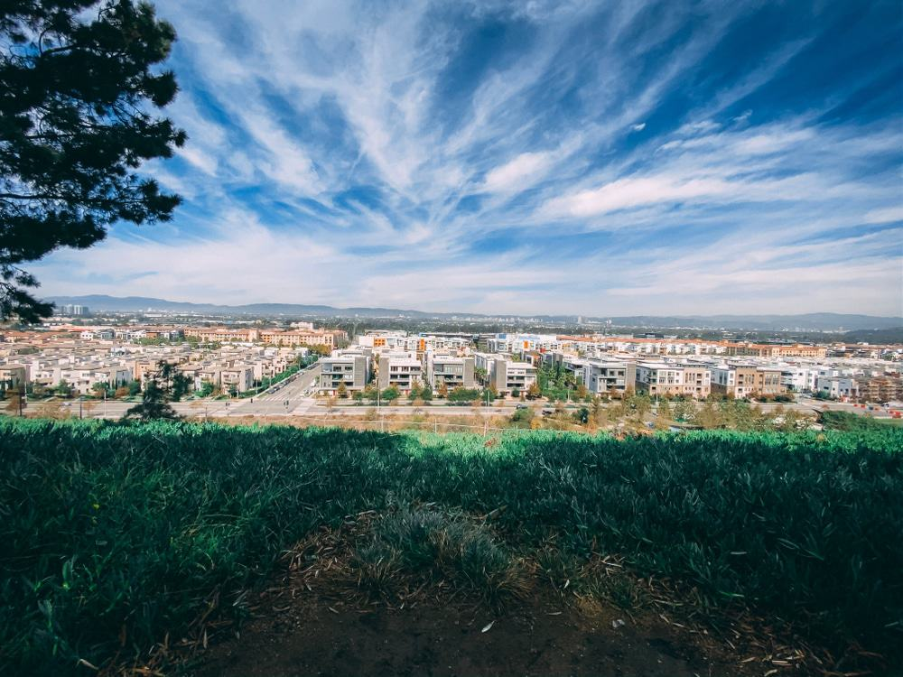 View from the bluff from Loyola Marymount University