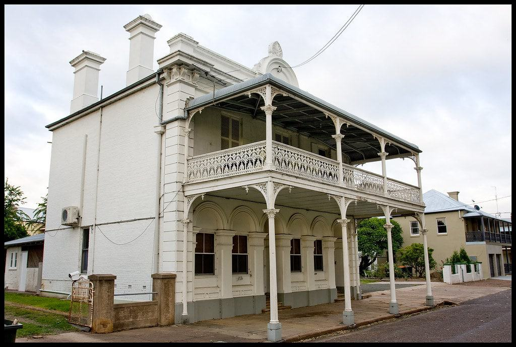 "Victorian Building In Singleton, Known As ""Bon Accord"""