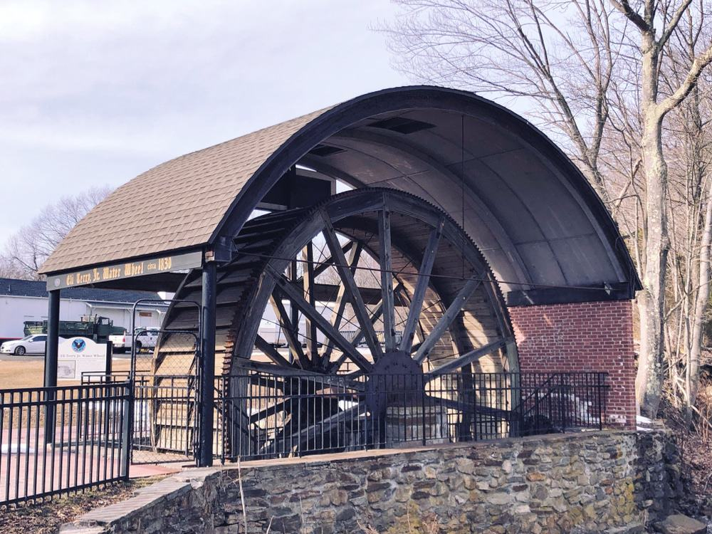 Eli Terry Jr. Waterwheel