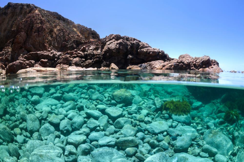 Underwater photo of The Swimming Hole, Whalers Way