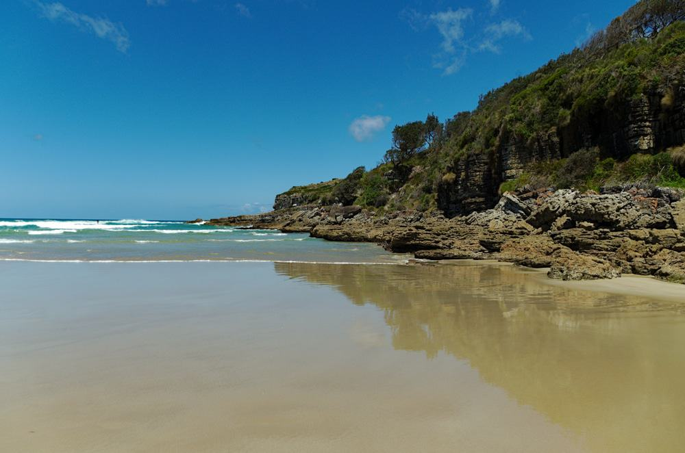 Cave Beach In Booderee National Park