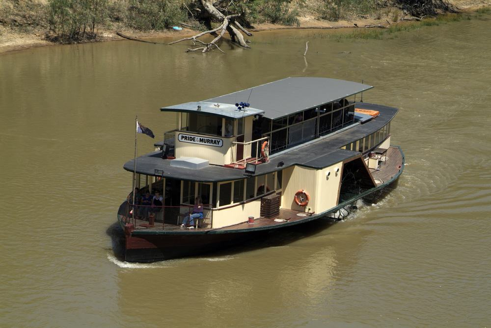 Pride Of The Murray Paddlesteamer