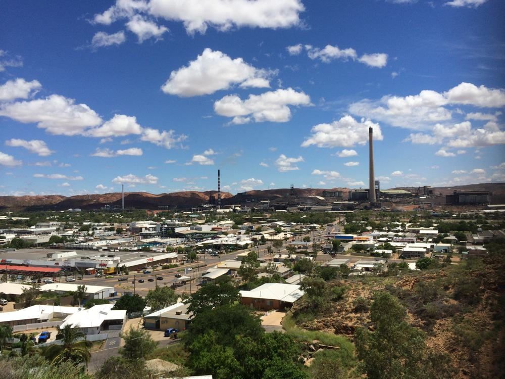 View of Mount Isa