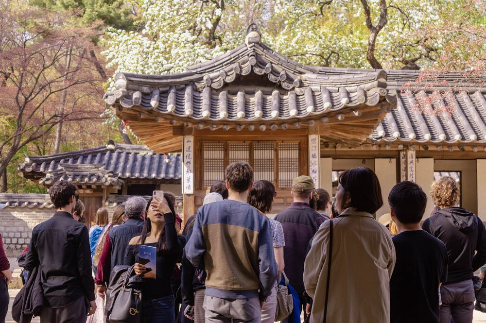 Tour Group In Seoul
