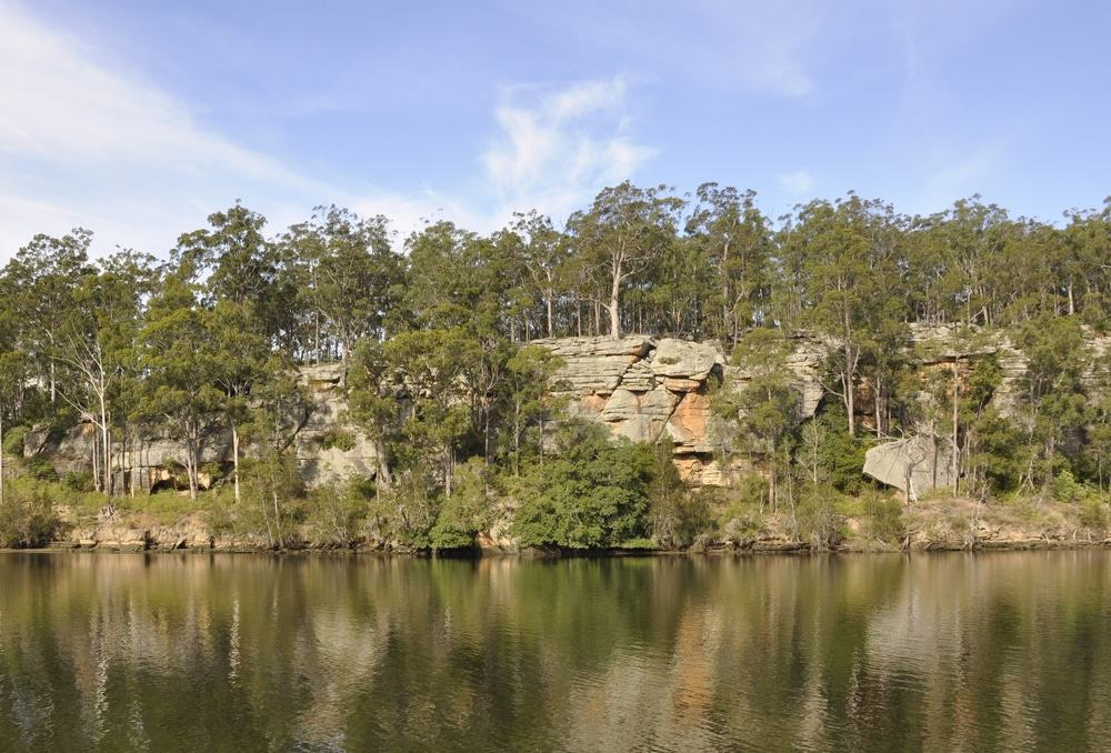 scenery along the Shoalhaven river