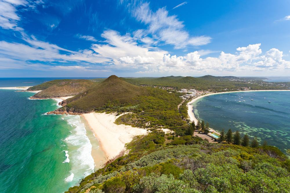View from Tomaree Head Lookout