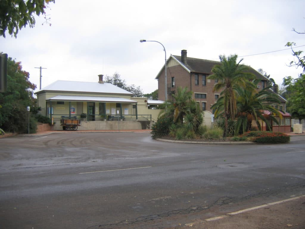Muswellbrook Historic Railway Station