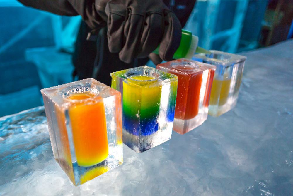 Famous Icebar in Stockholm