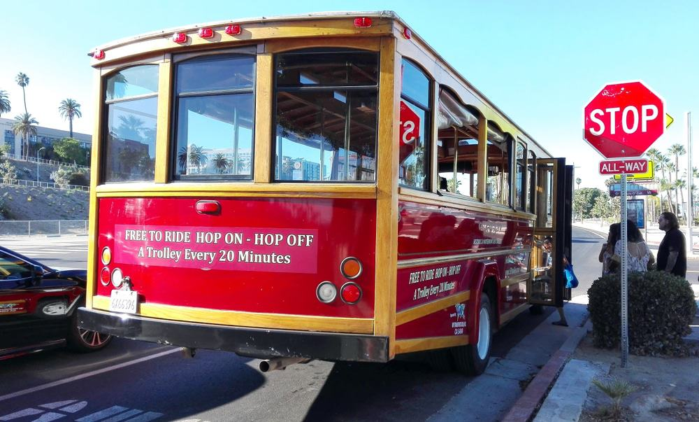 Waterfront Red Car Trolley Line