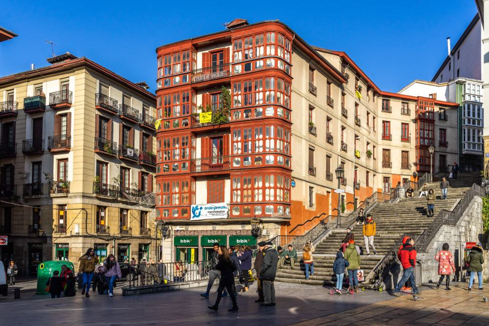 Old Town in Bilbao